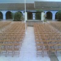 Trabajos de Sillas j Lagares, alquiler de materiales para Eventos.